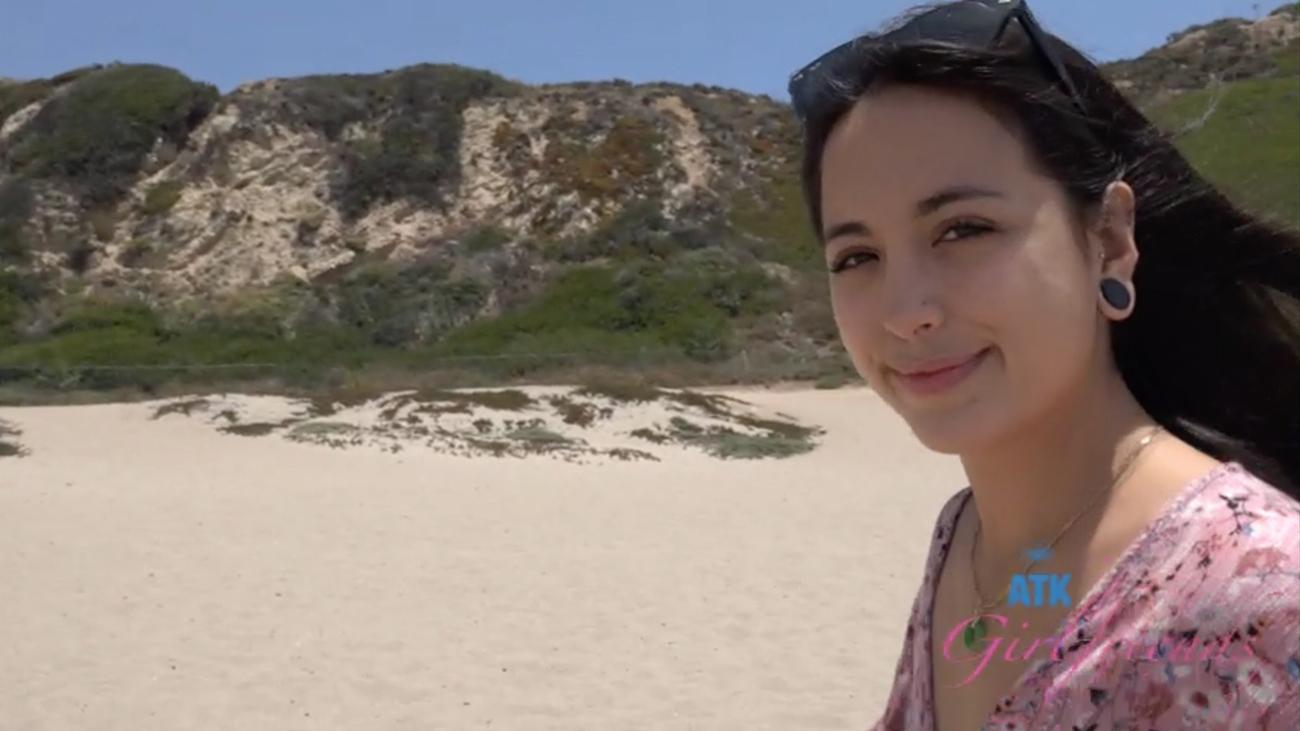 You hit the beach with Mi Ha!