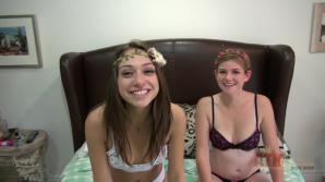 Sara Luvv and  Lara Brookes virtual double date part three